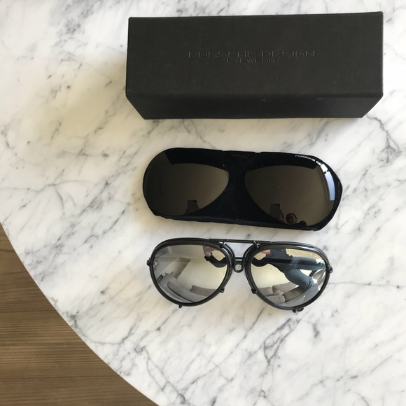 7dba62328d8 Porsche Design P8613 Kardashian aviator sunglasses.  M 5ae26dd85512fd554e54a9f5